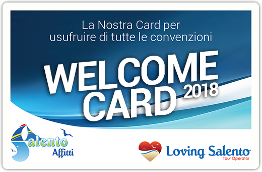 Welcome Card Salento 2016
